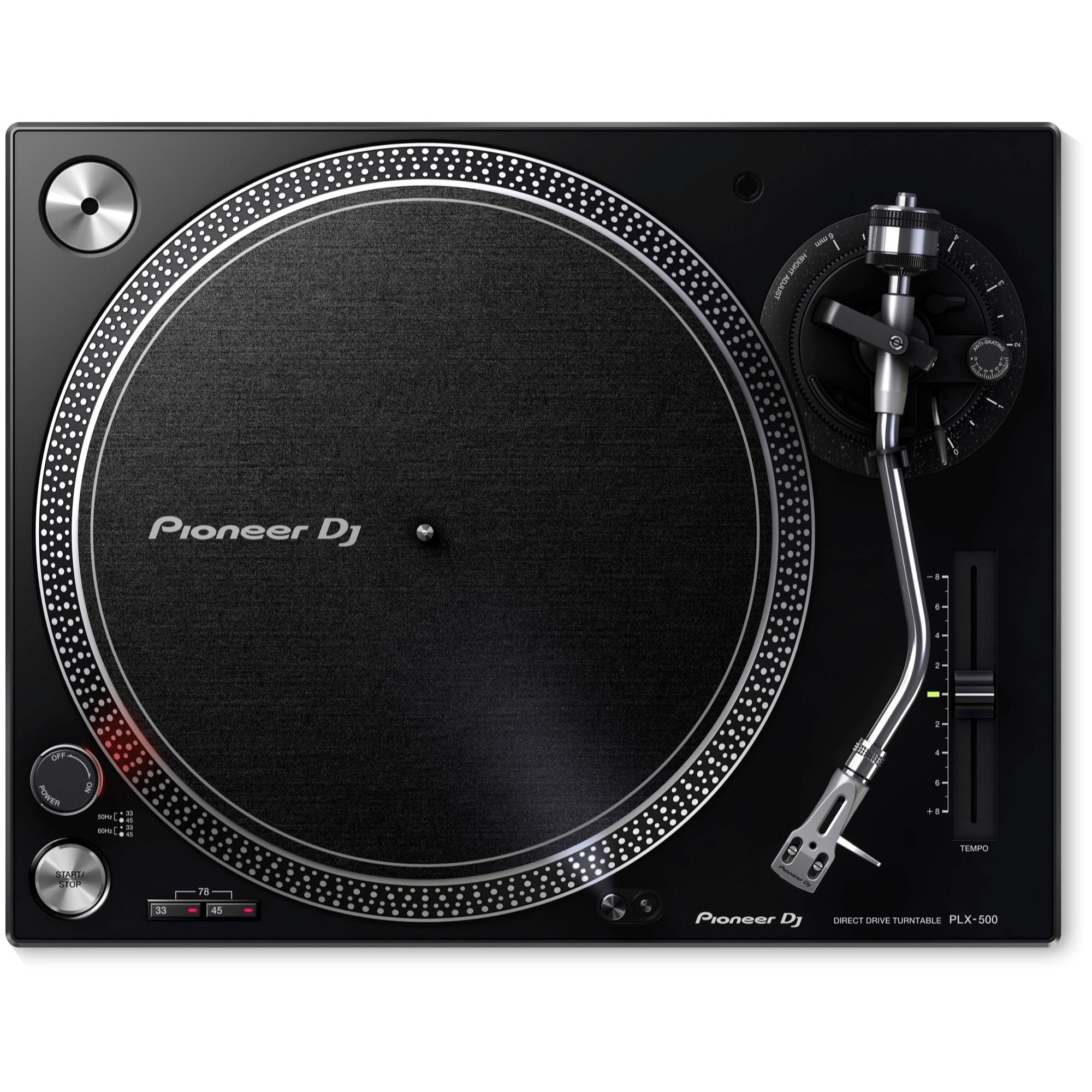 Pioneer PLX-500 Direct-Drive Turntable with USB, Black
