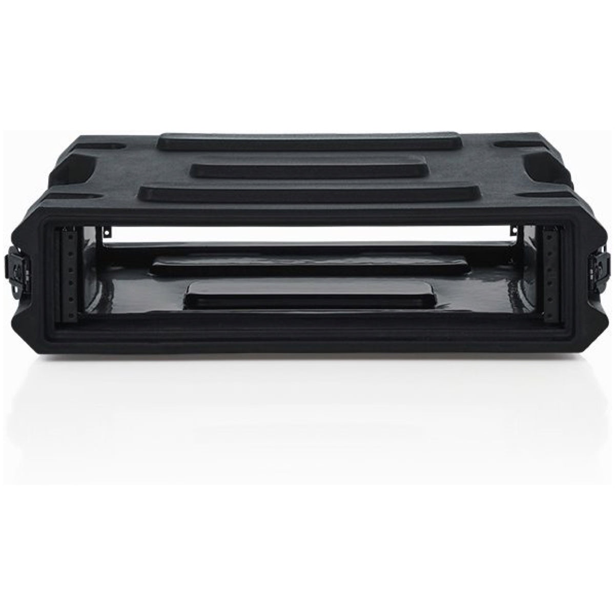 Gator Pro Series Deep Molded Audio Rack, 2-Space, 19 Inch, G-PRO-2U-19