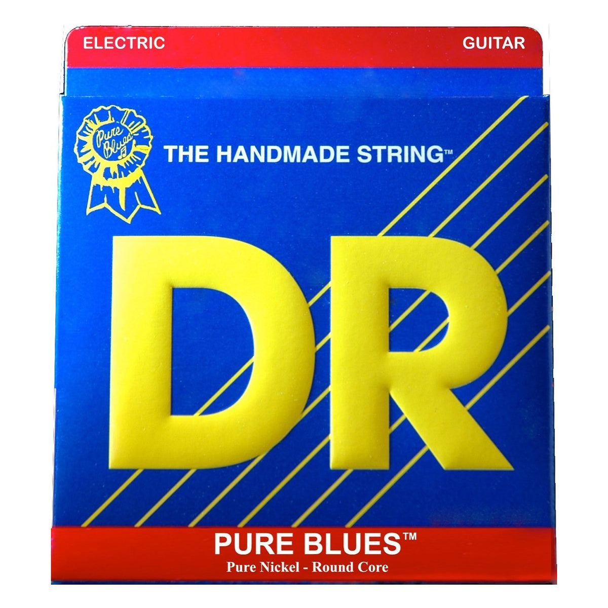 DR Strings Pure Blues Nickel Electric Guitar Strings, PHR-11, Heavy, 18568