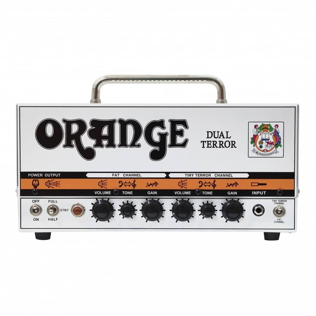 Orange DT30H Dual Terror Guitar Amplifier Head (30 Watts), with Free Orange Amp Bag