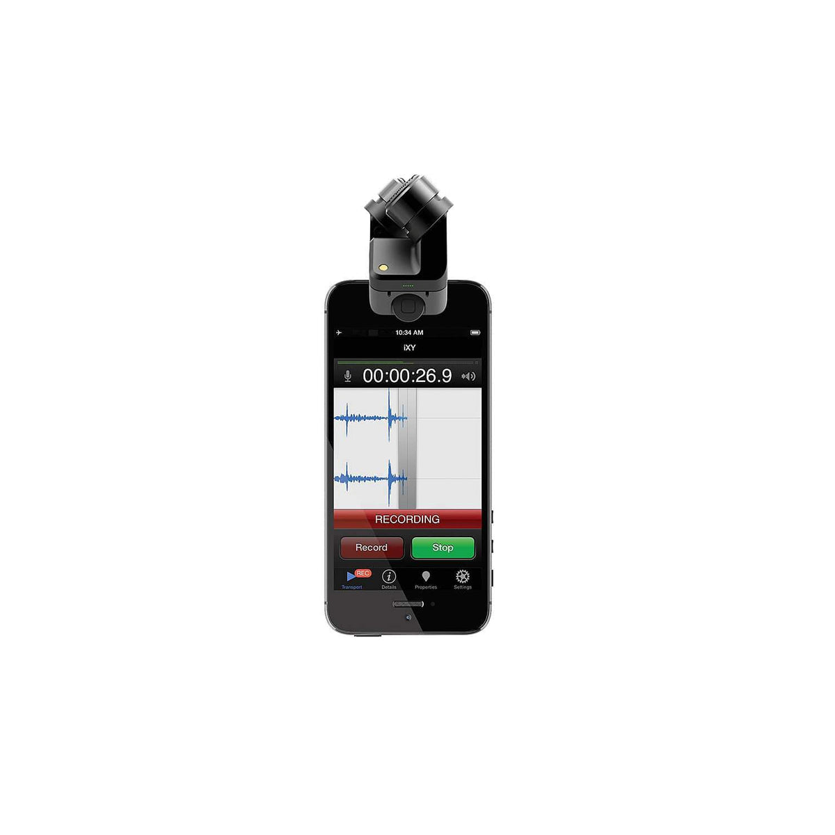Rode iXY-L Stereo Microphone for Lightning iOS Devices