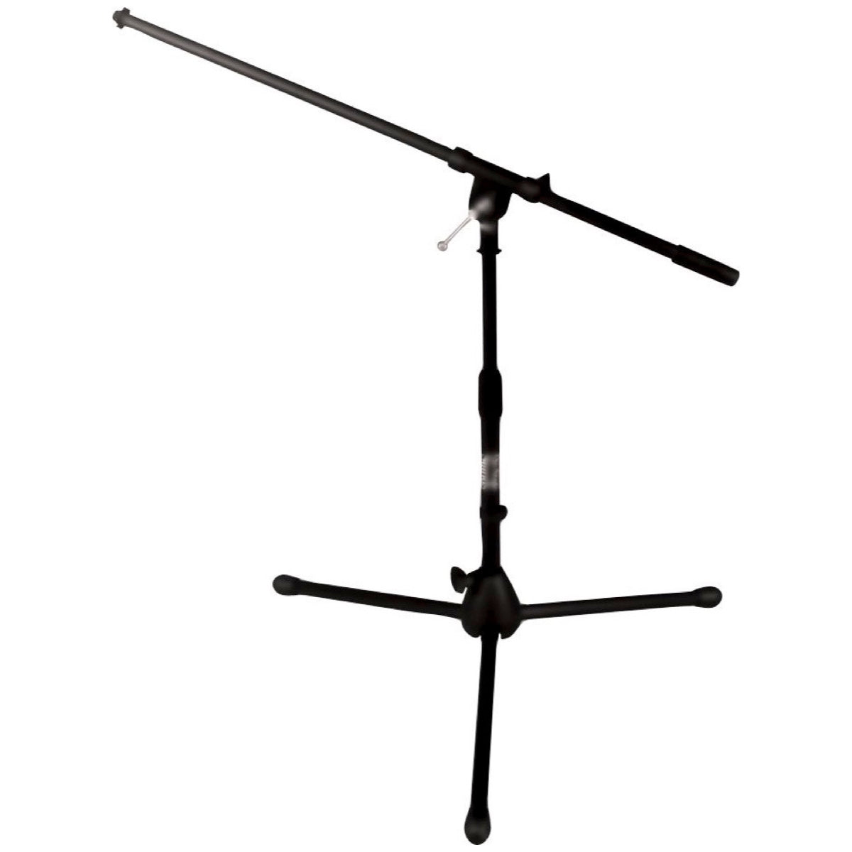 On-Stage MS7411B Short Tripod Boom Microphone Stand, Black