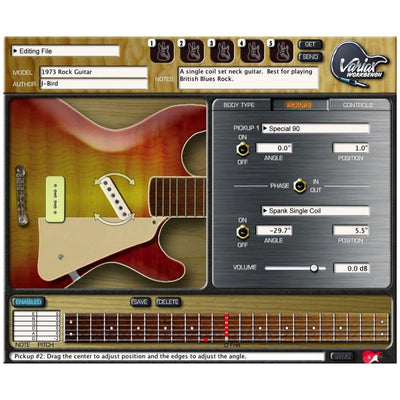 Line 6 Variax Workbench Software (Macintosh and Windows), Version 1.5