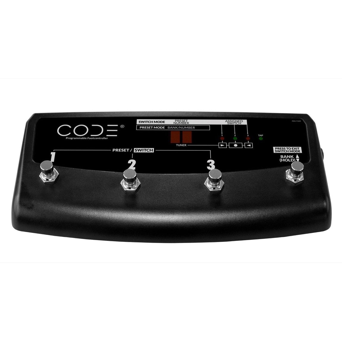 Marshall CODE 4-Way Stompware Footcontroller