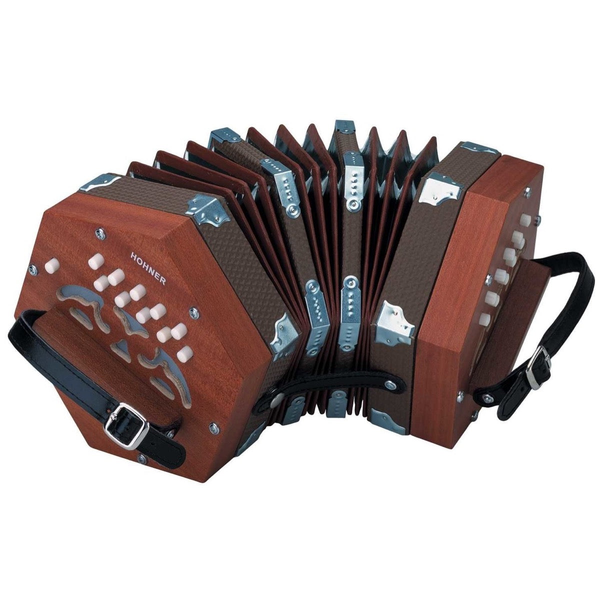 Hohner D40 Concertina, with Gig Bag