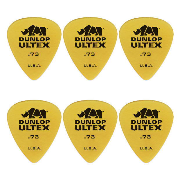Dunlop Ultex Standard Picks, 6-Pack, .73mm