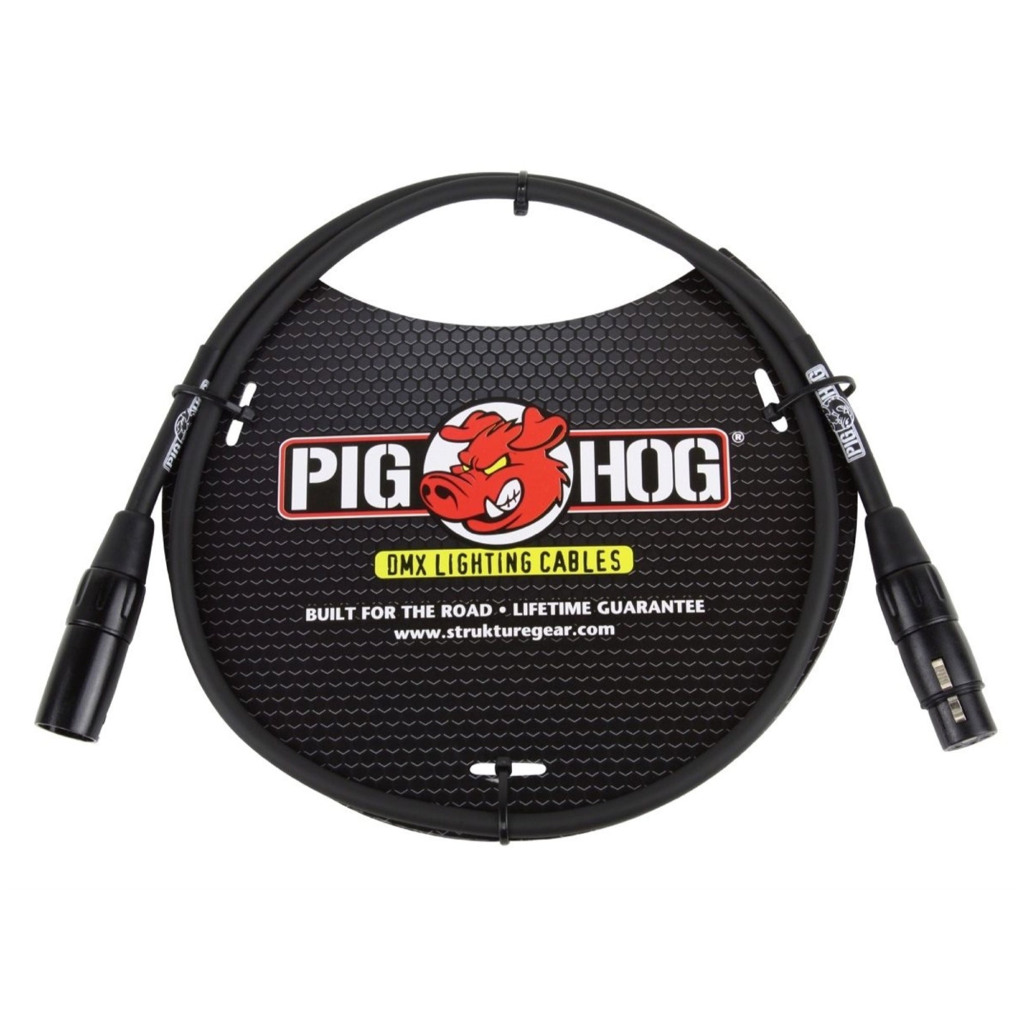Pig Hog 3-Pin DMX Lighting Cable, 25 Foot