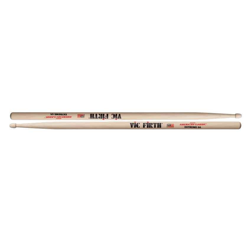 Vic Firth American Classic Extreme 5A Drumsticks, Wood Tip, Pair
