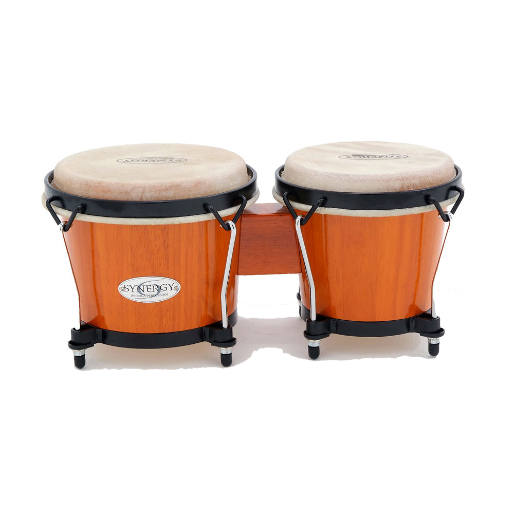 Toca Synergy Bongo Set, Amber, 6 and 6 3/4 Inch
