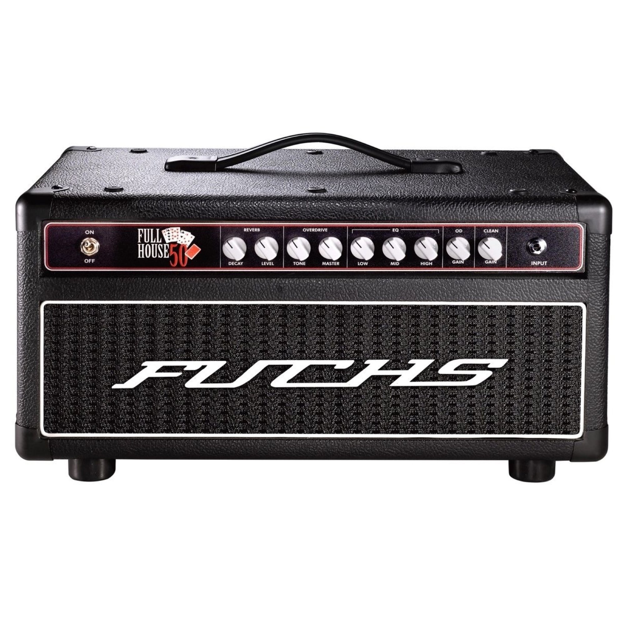 Fuchs Full House 50 Guitar Amplifier Head (50 Watts), Black