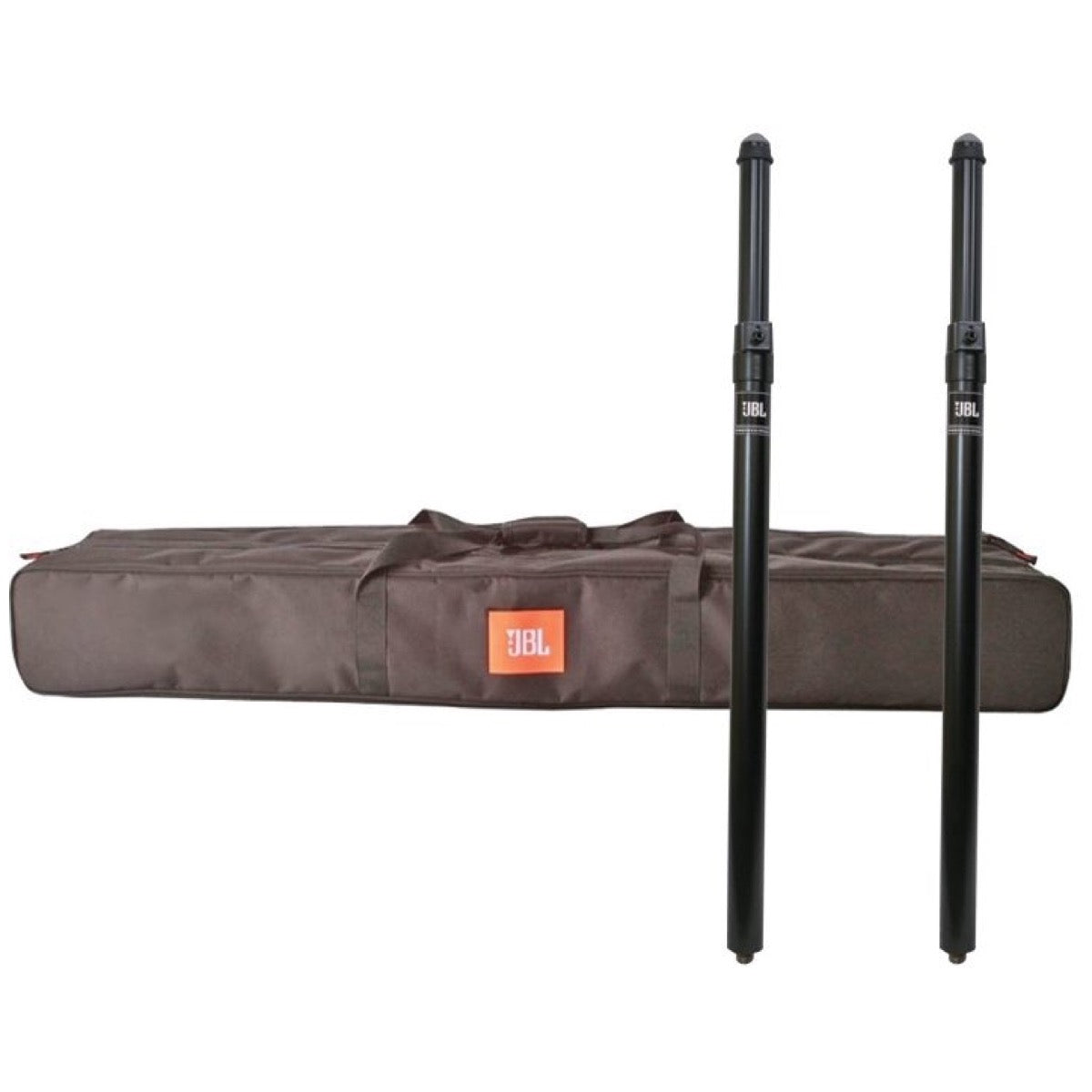 JBL POLE-GA Gas Assist Adjustable Speaker Pole, Pair, with JBL Deluxe Speaker Pole Stand Bag