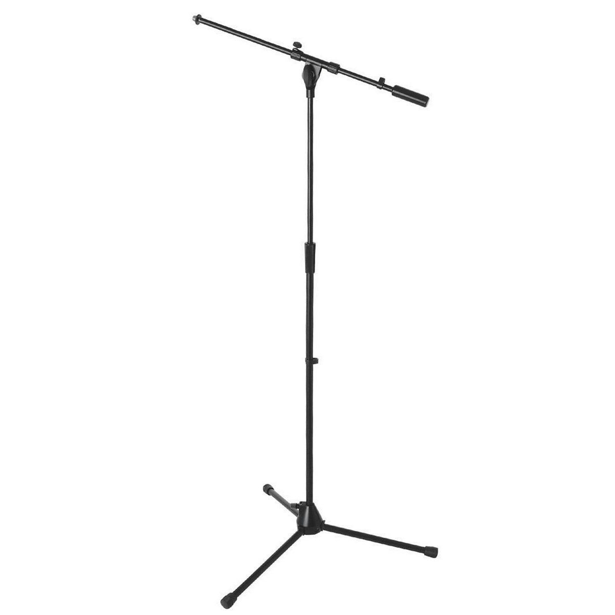 On-Stage 9701B Plus Professional Tripod Boom Microphone Stand, Black