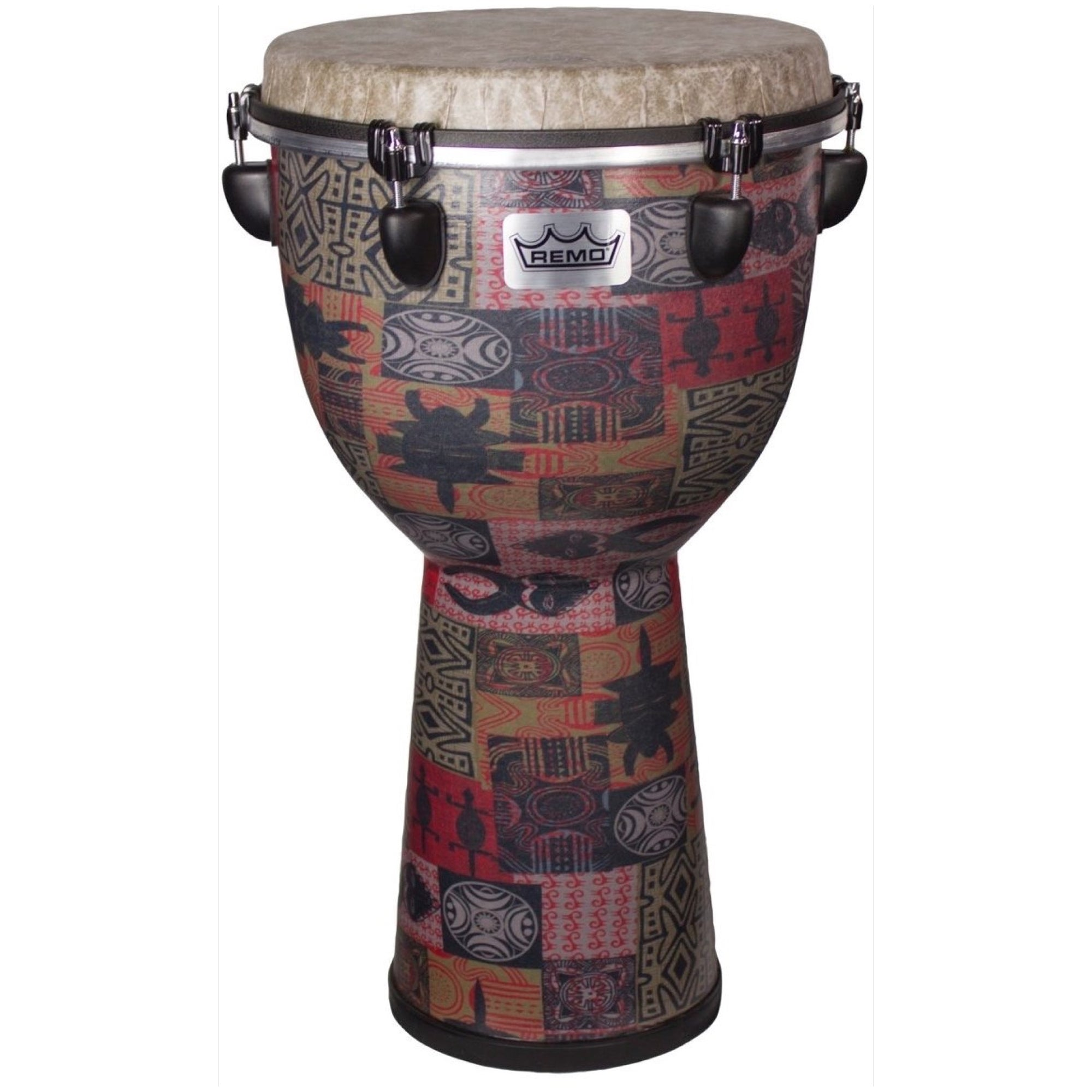 Remo Apex Djembe Drum, Red