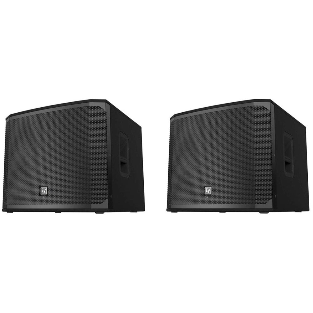 Electro-Voice EKX-18SP Powered Subwoofer Speaker, Pair