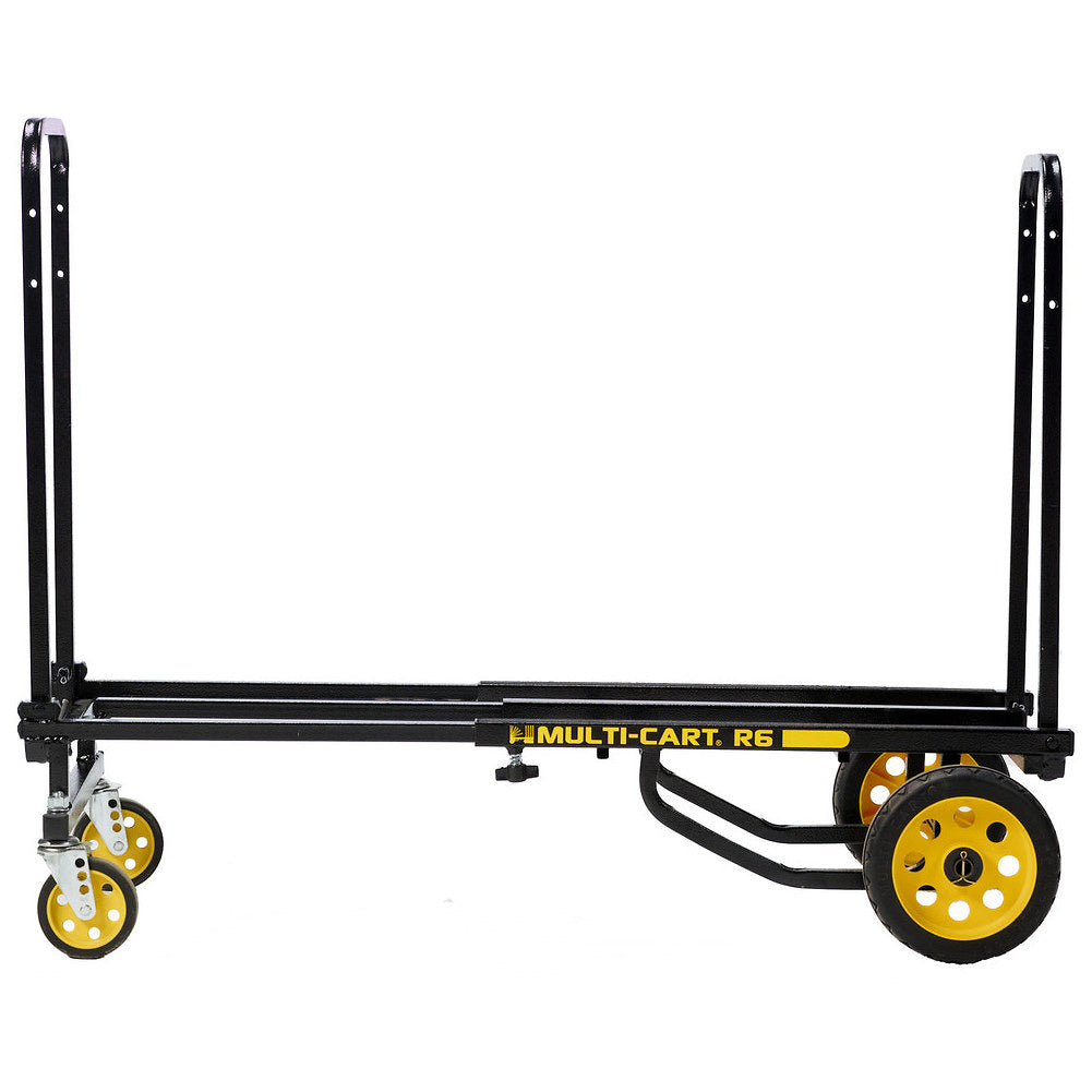 RocknRoller Multi-Cart Equipment Cart with R-Trac Wheels, R6RT