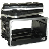 Load image into Gallery viewer, Grundorf Amp Rack Case with Wheels, ABS-R0616CB, 5-Space