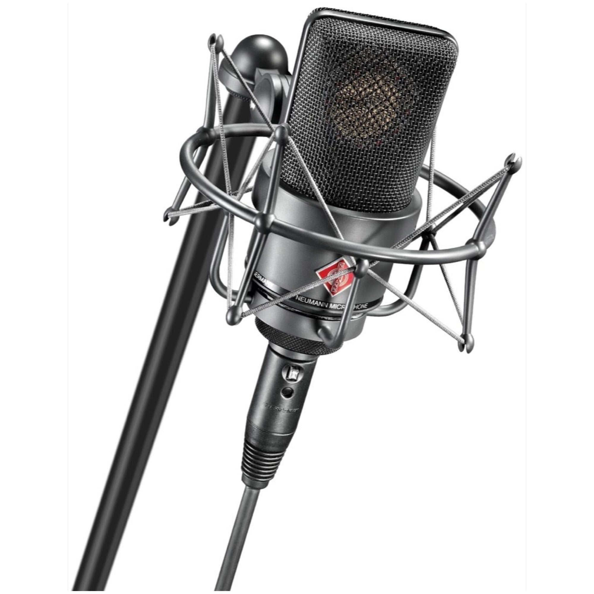Neumann TLM 103 Anniversary Large-Diaphragm Condenser Microphone with Shockmount and Case, Black