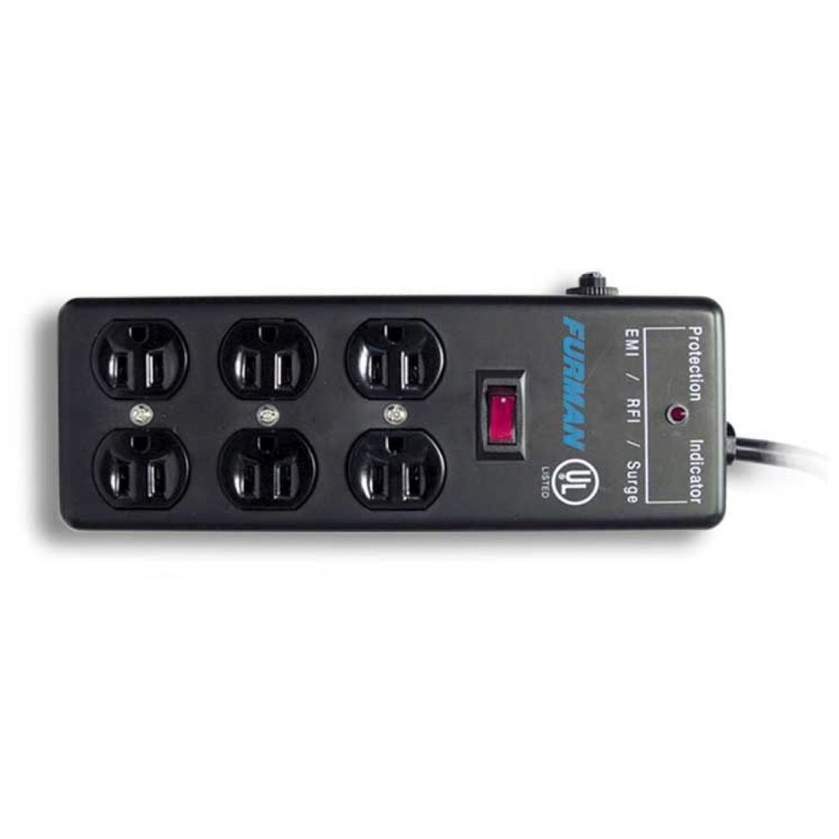 Furman SS6B Surge Block with 6 AC Outlets, 2-Pack