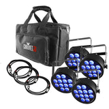 Load image into Gallery viewer, Chauvet DJ SlimPACK T12 USB Stage Lighting Package