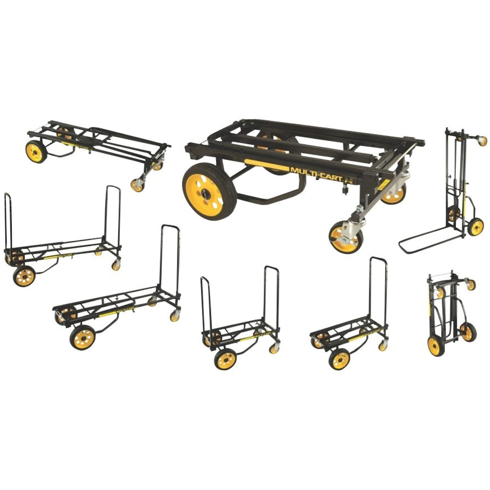 RocknRoller Multi-Cart Equipment Cart with R-Trac Wheels, R10RT