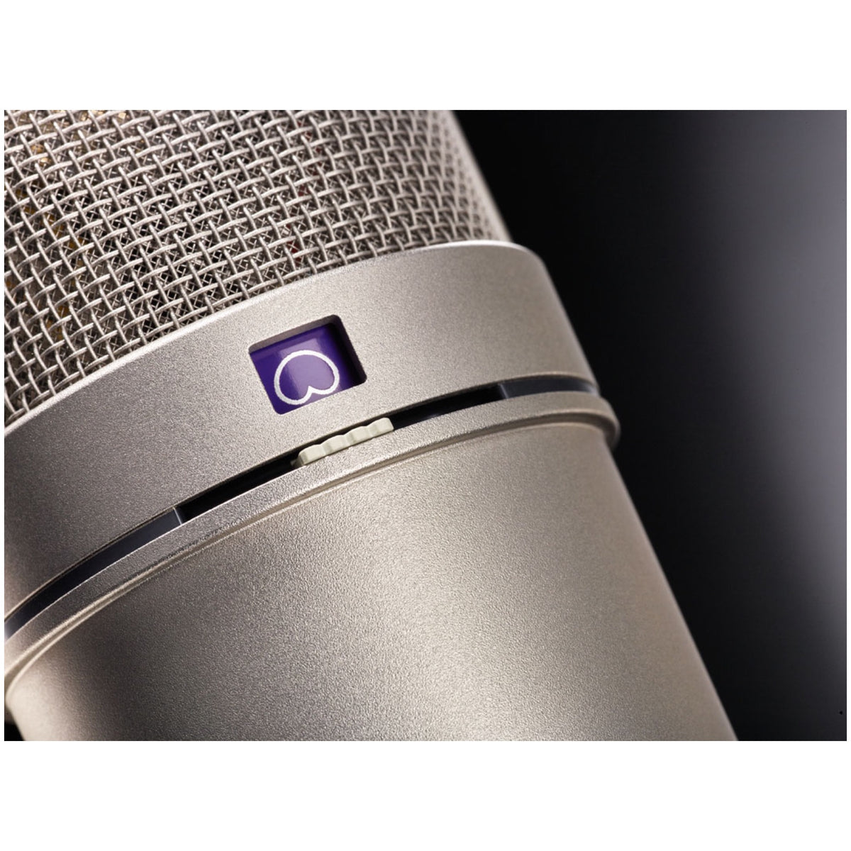 Neumann U 87 Ai Large-Diaphragm Condenser Microphone with Shock Mount, Case and Cable, Nickel