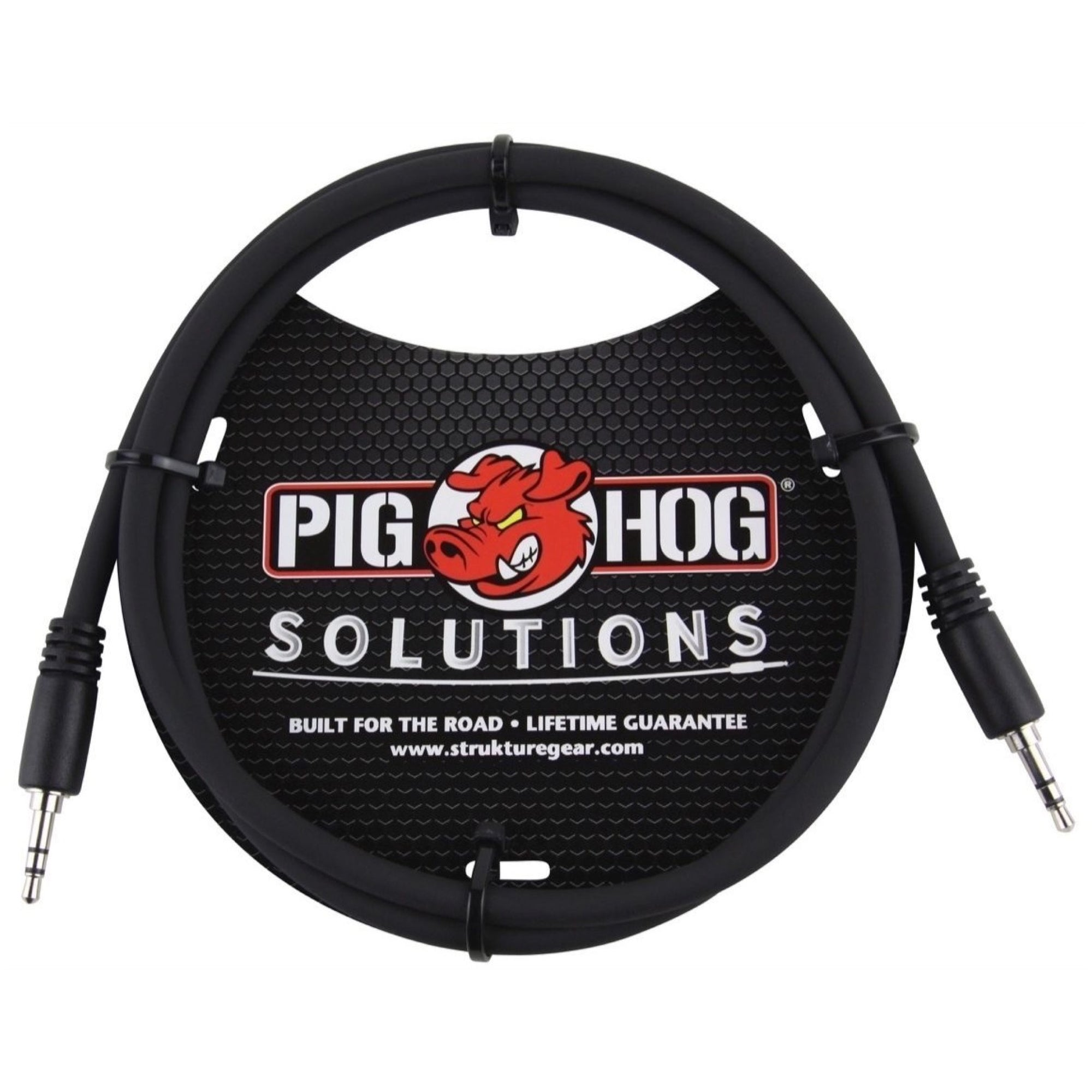Pig Hog 3.5mm TRS (Male) to 3.5mm TRS (Male) Cable, 9'