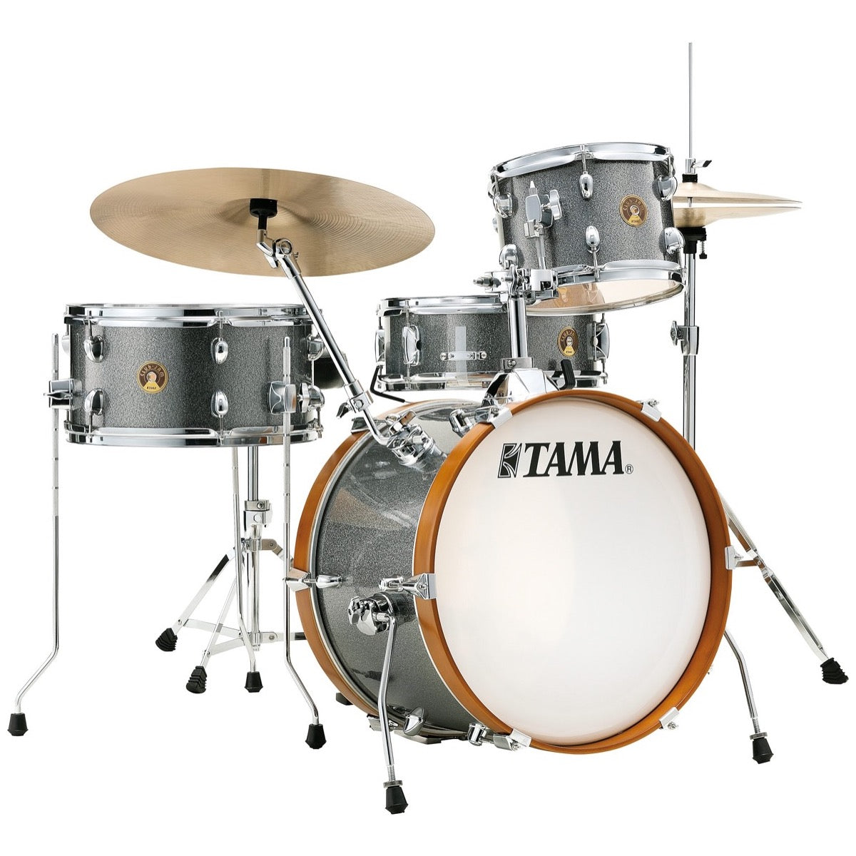 Tama Club Jam Drum Shell Kit, 4-Piece, Galaxy Silver