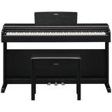 Load image into Gallery viewer, Yamaha Arius YDP-144 Digital Piano, Black Walnut