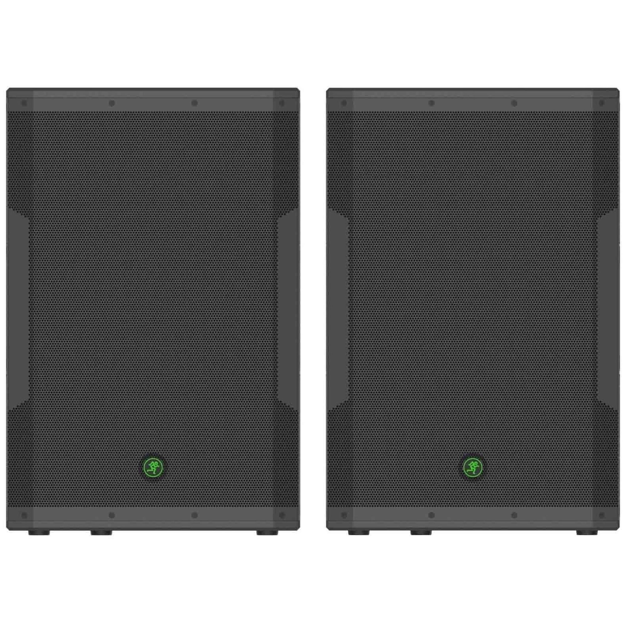 Mackie SRM650 Powered Speaker (1600 Watts, 1x15 Inch), Pair