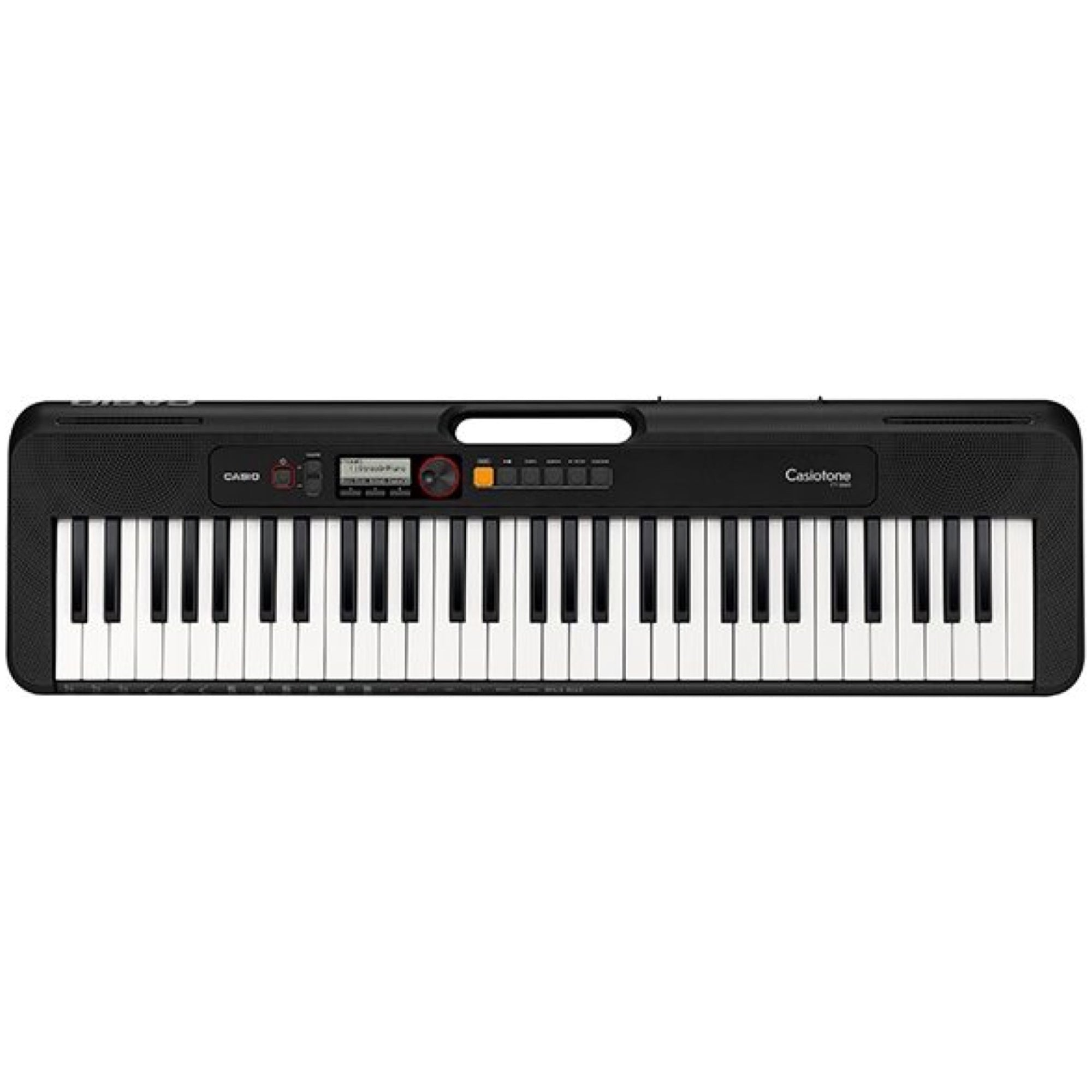 Casio CT-S200 Casiotone Portable Electronic Keyboard with USB, Black