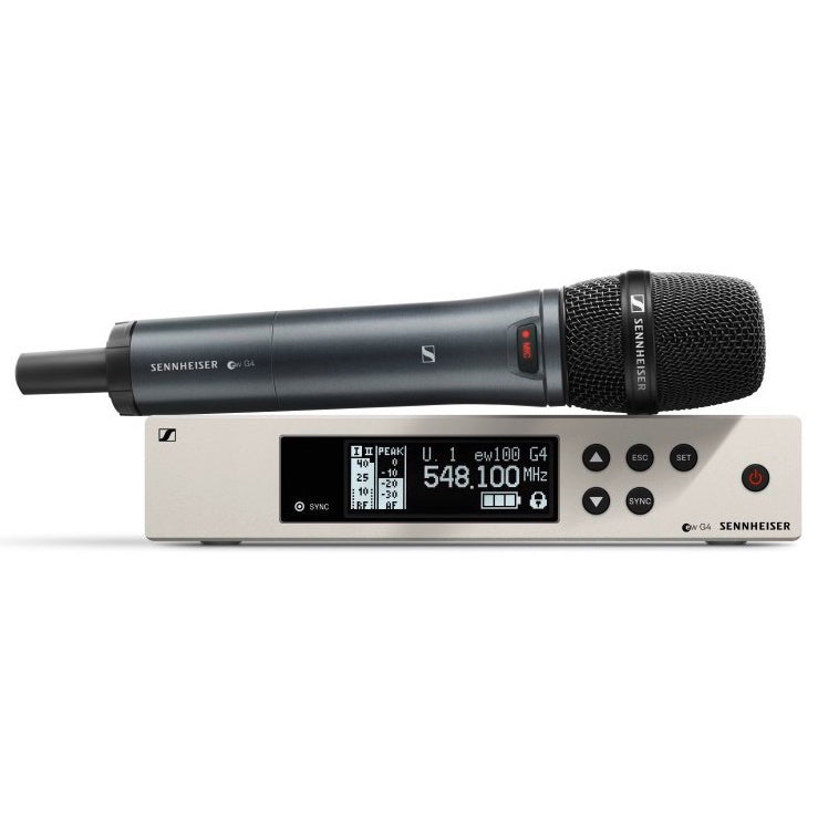 Sennheiser ew100 G4 e865 Vocal Wireless Microphone System, Band A1 (470-516 MHz)