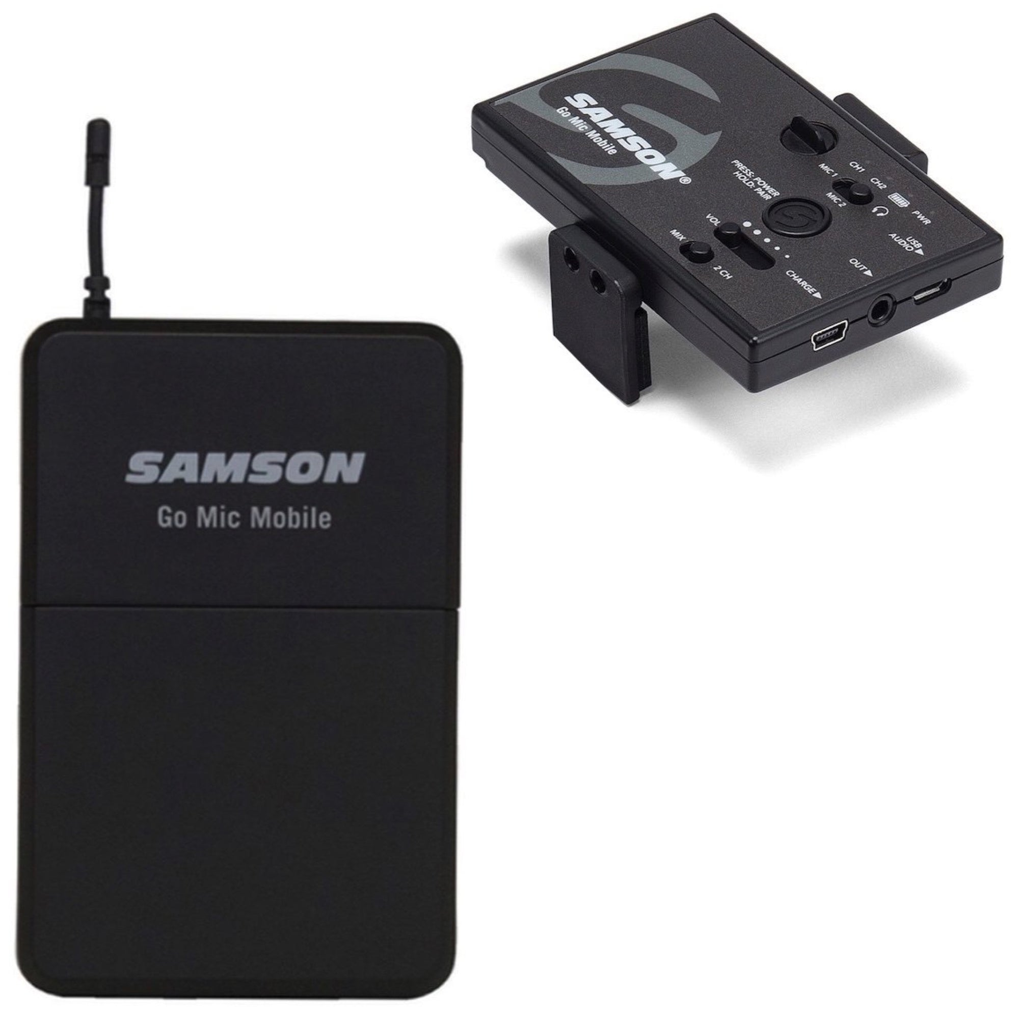 Samson Go Mic Mobile Smartphone Wireless Lavalier System
