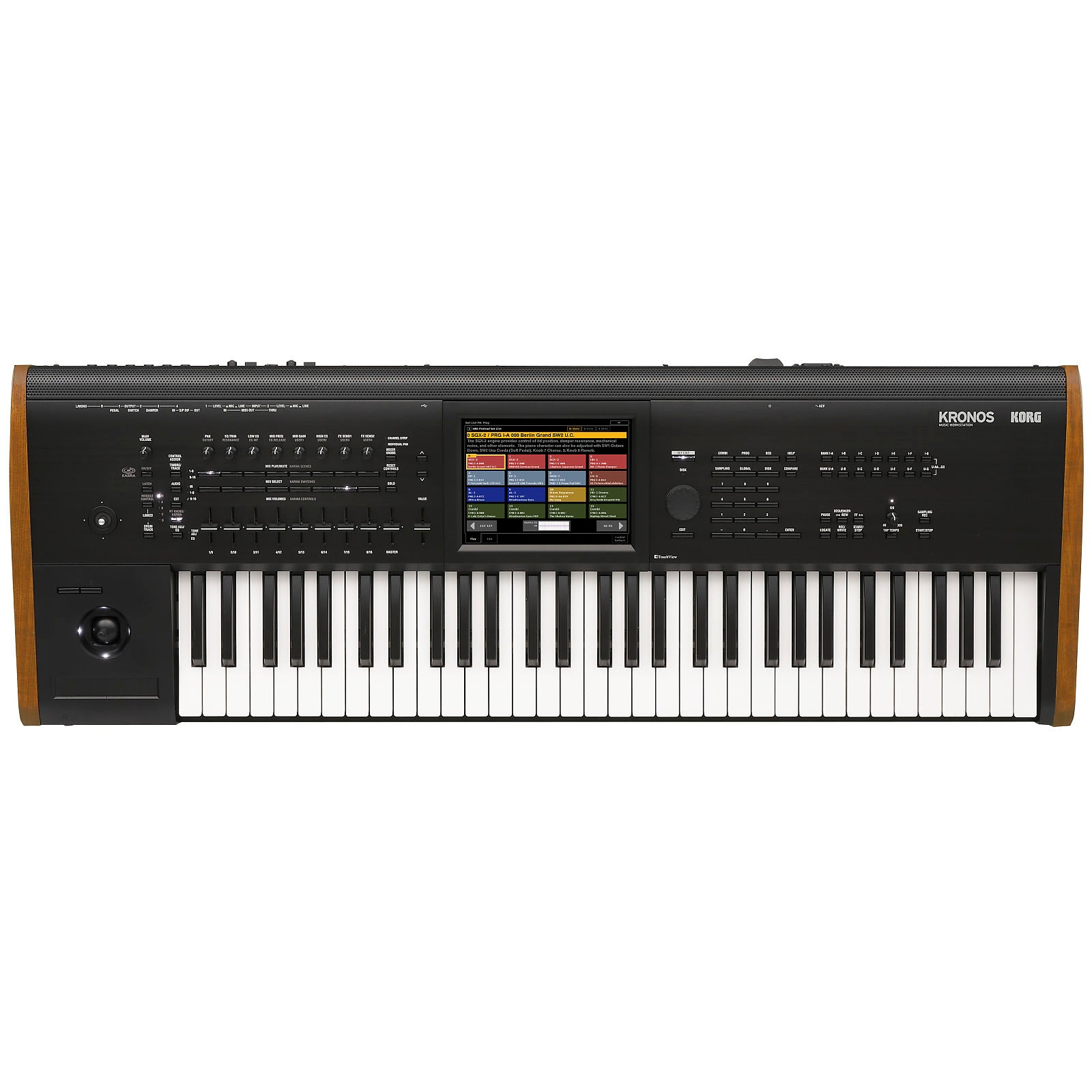 Korg Kronos 6 Music Workstation Keyboard, 61-Key