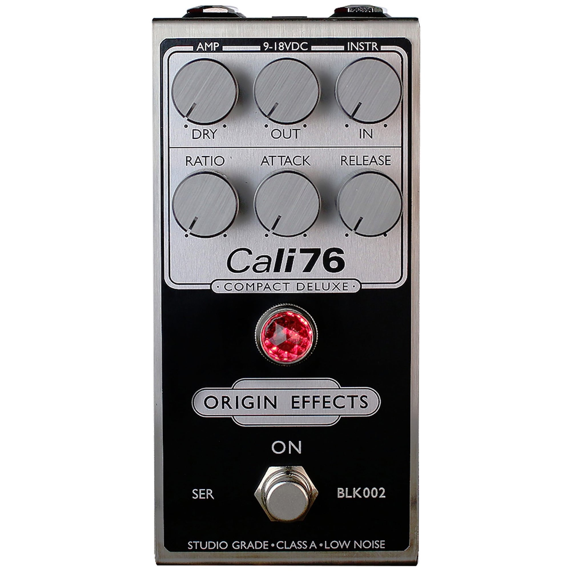Origin Effects Cali76 Compact Deluxe Compressor Pedal, Black Model