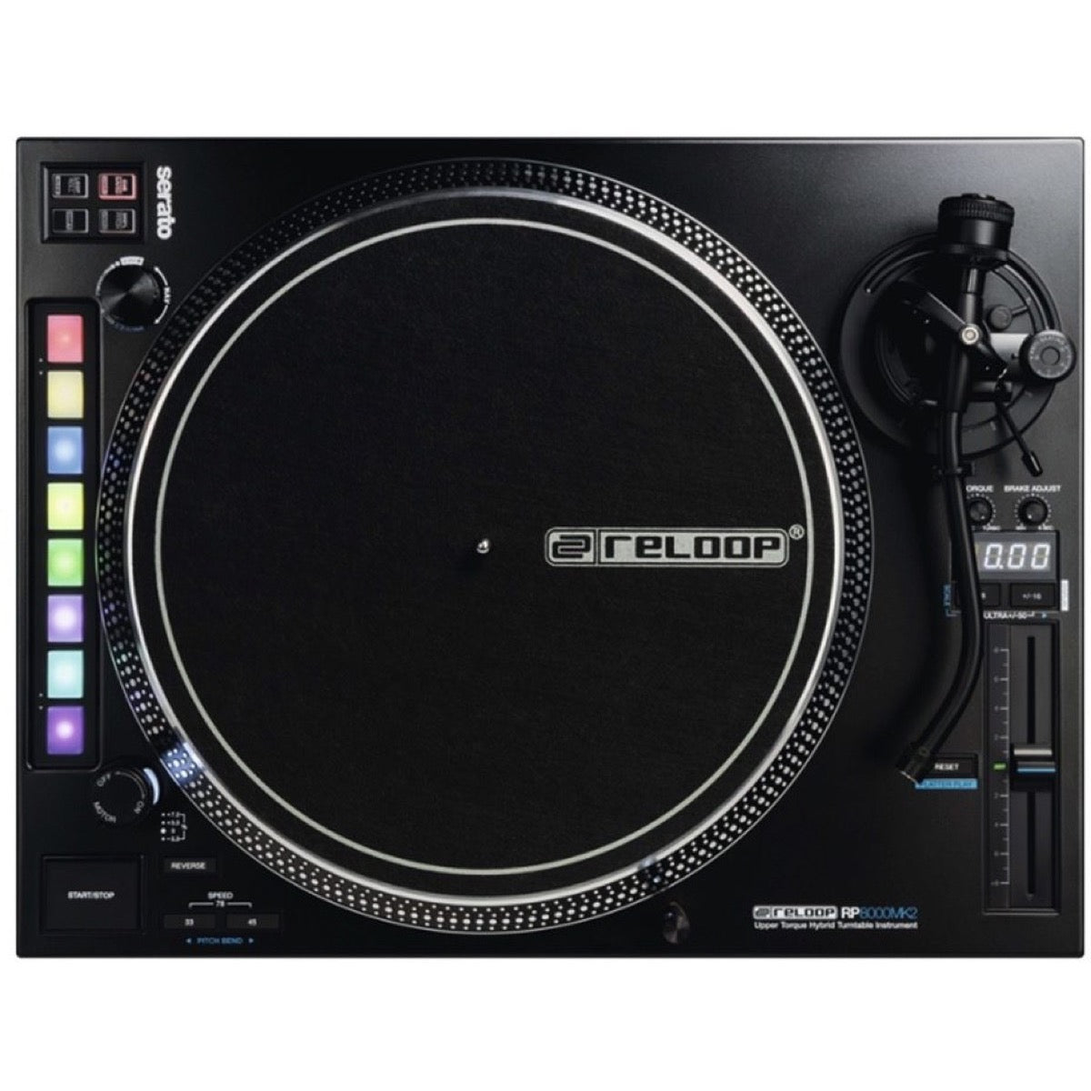 Reloop RP-8000 MK2 Direct Drive High Torque Turntable