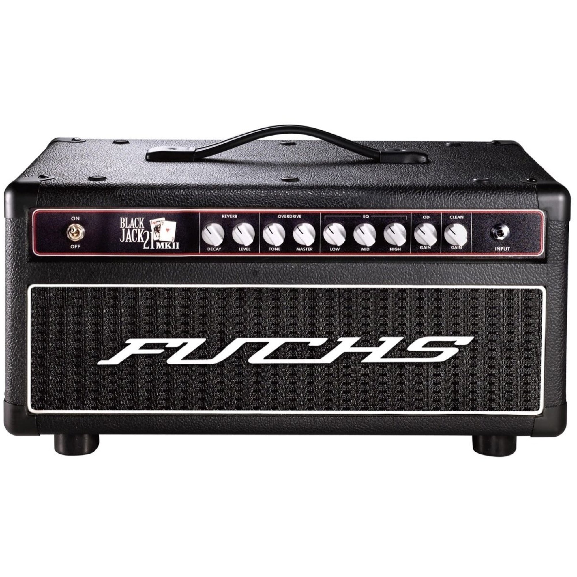Fuchs Blackjack 21 Guitar Amplifier Head, Black