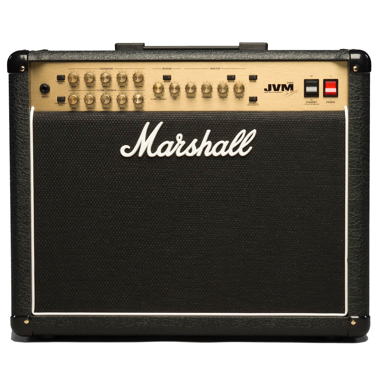 Marshall JVM215C 2-Channel Guitar Combo Amplifier (50 Watts (1x12 Inch)