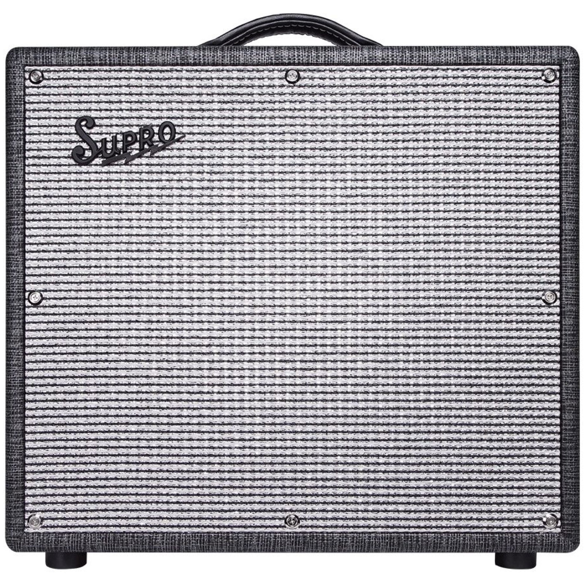 Supro Black Magick Reverb Guitar Combo Amplifier (25 Watts, 1x12 Inch)