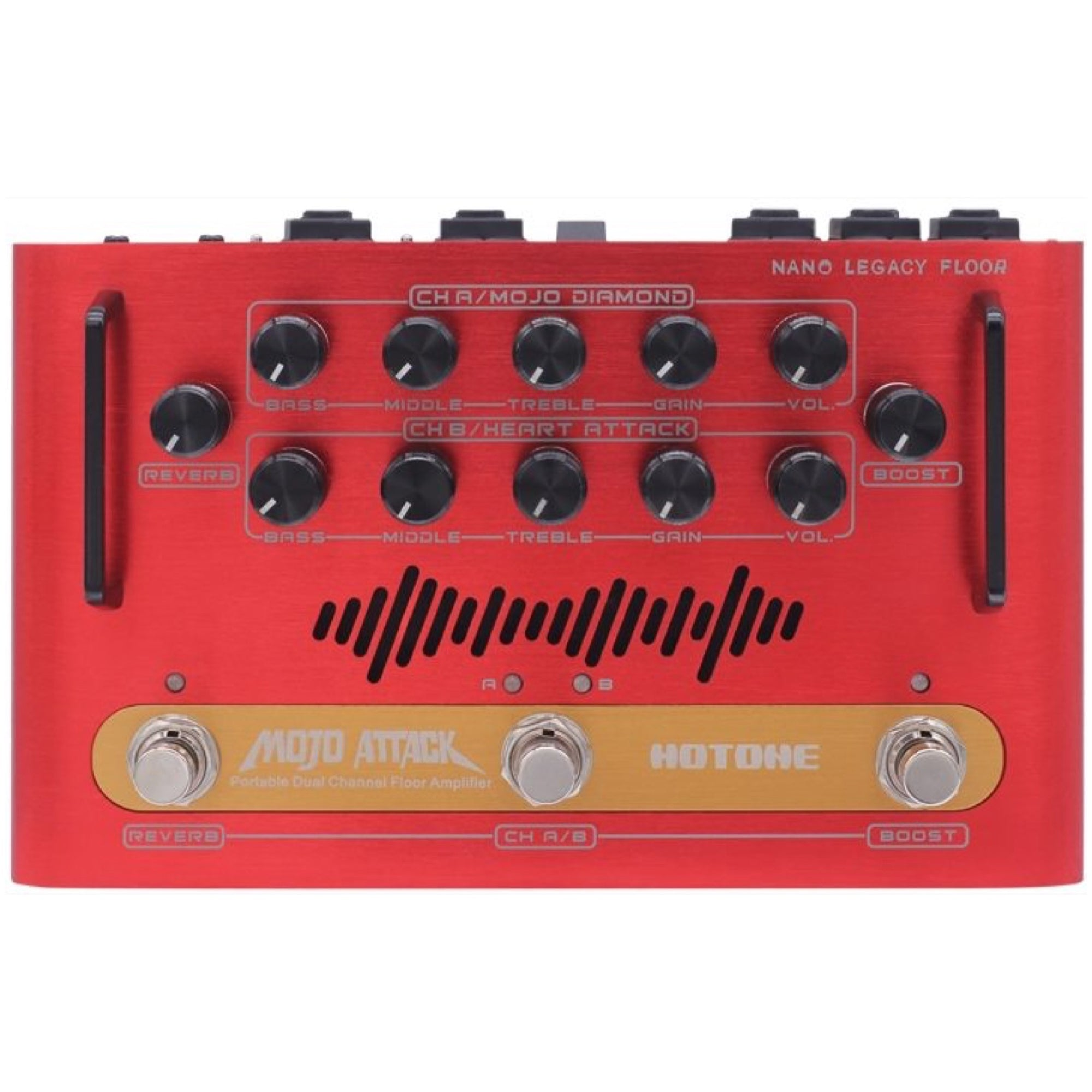 Hotone Mojo Attack Portable Guitar Amplifier Head (75 Watts)