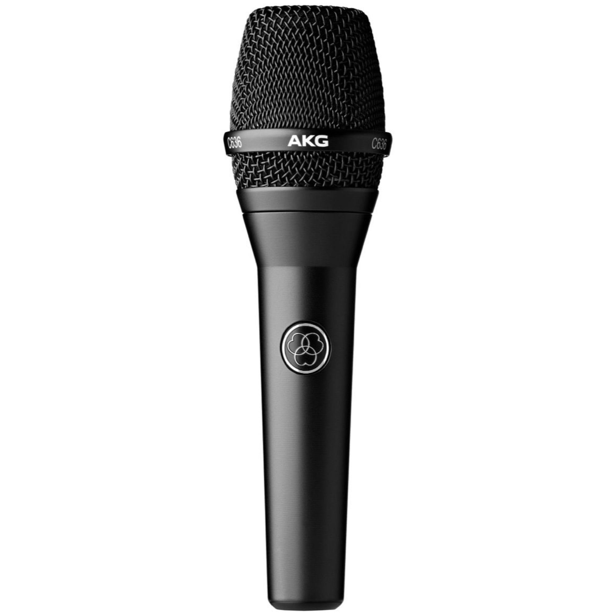 AKG C636 Handheld Condenser Vocal Microphone, Black