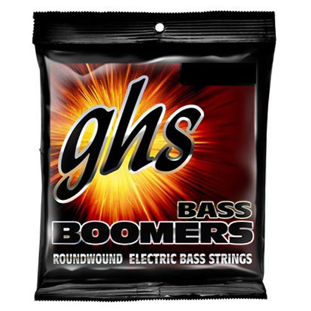 GHS Bass Boomers Electric Bass Strings, M3045, Medium, 45-105