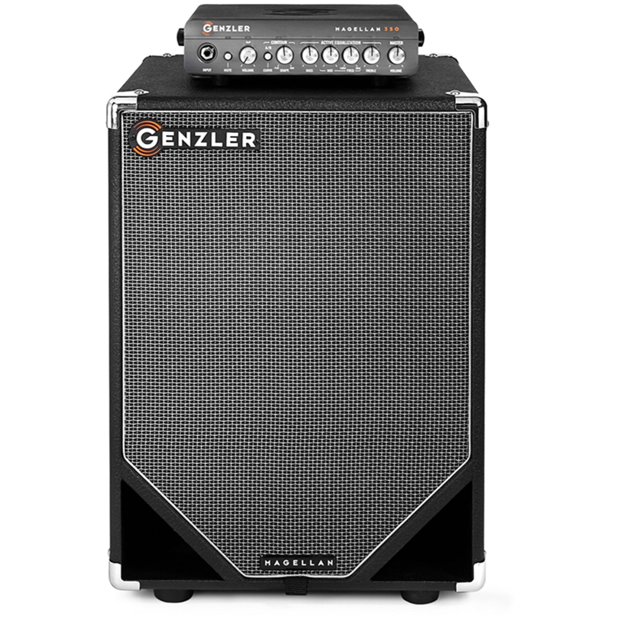 Genzler MG350 MG12TV Bass Amplifier Stack (350 Watts, 1x12 Inch)