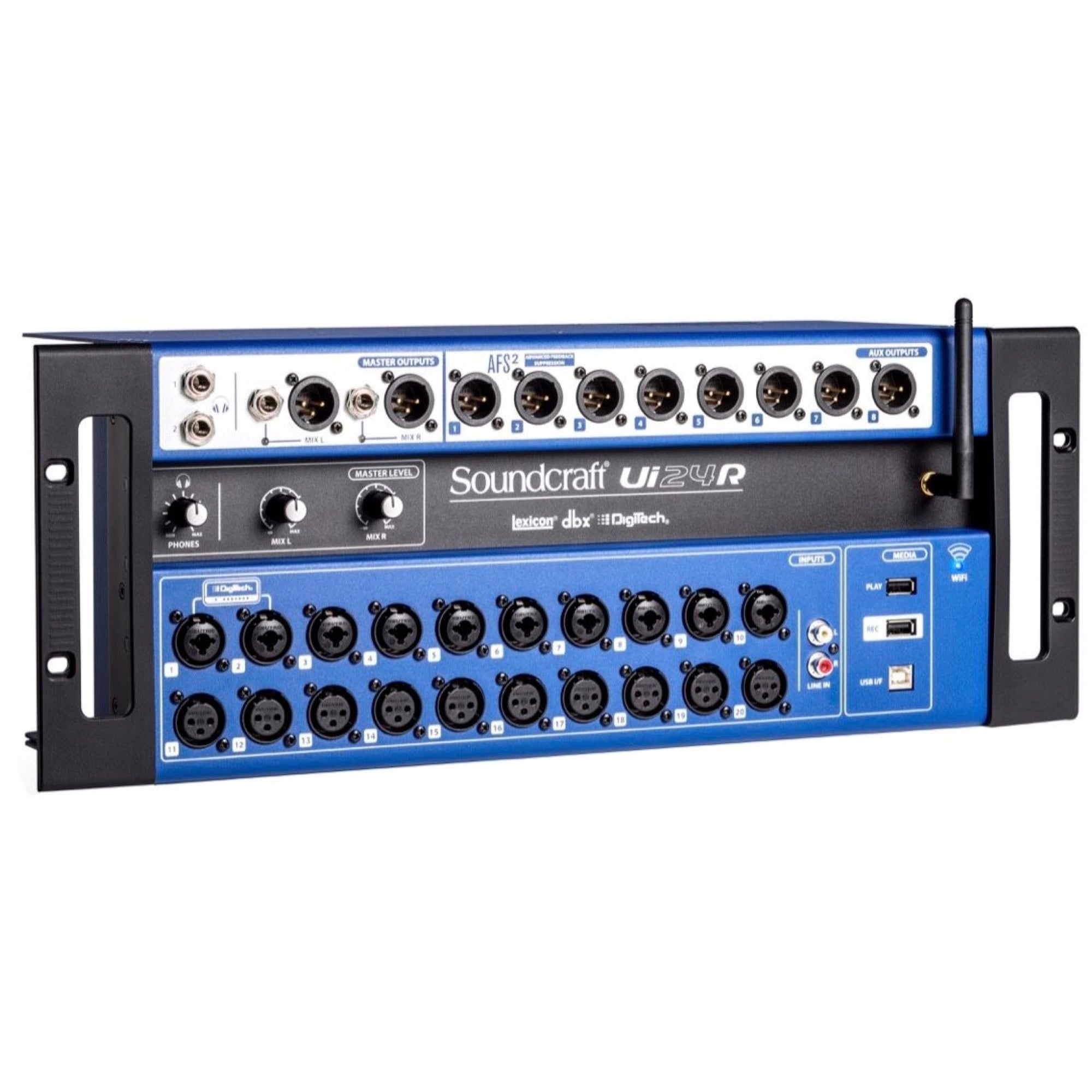 Soundcraft Ui24R Rack Mount 24-Channel Digital Mixer