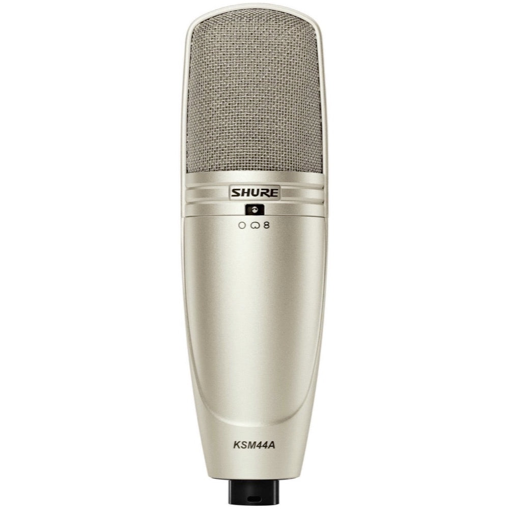 Shure KSM44A Multi-Pattern Large Dual-Diaphragm Condenser Microphone, KSM44A/SL