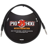 Load image into Gallery viewer, Pig Hog 1/4 Inch TRS to 1/4 Inch TRS Patch Cable, 6 Foot
