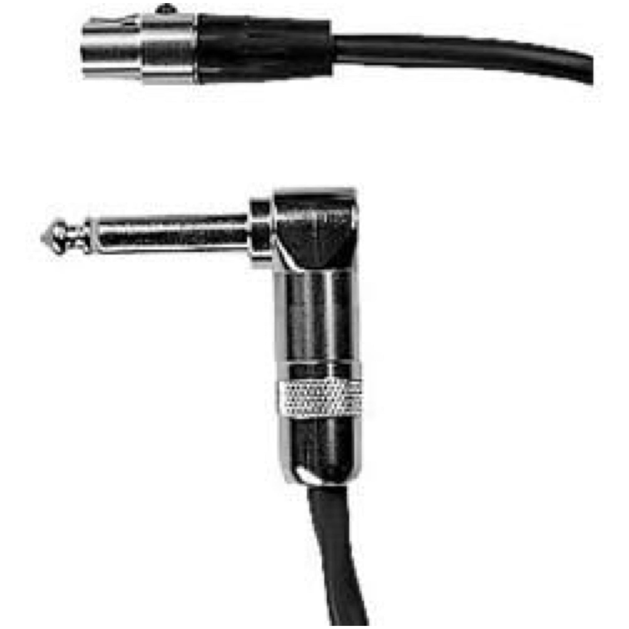 Shure WA304 Instrument Wireless Cable, Right Angle