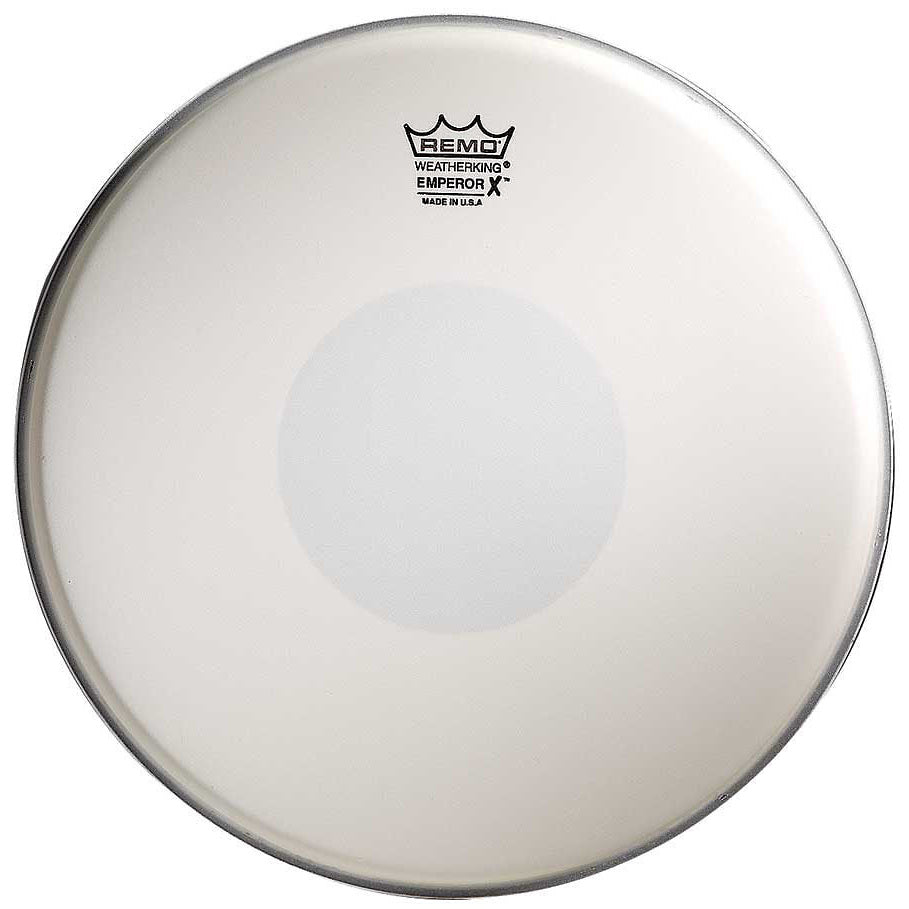 Remo Coated Emperor X Snare Drumhead, BX-0114-10, 14 Inch