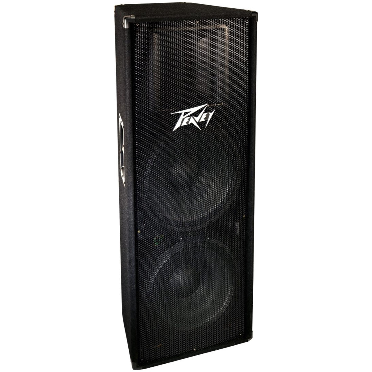 Peavey PV215 Passive, Unpowered PA Speaker (2x15 Inch), with Free CBI Speaker Cable (25 ft.)