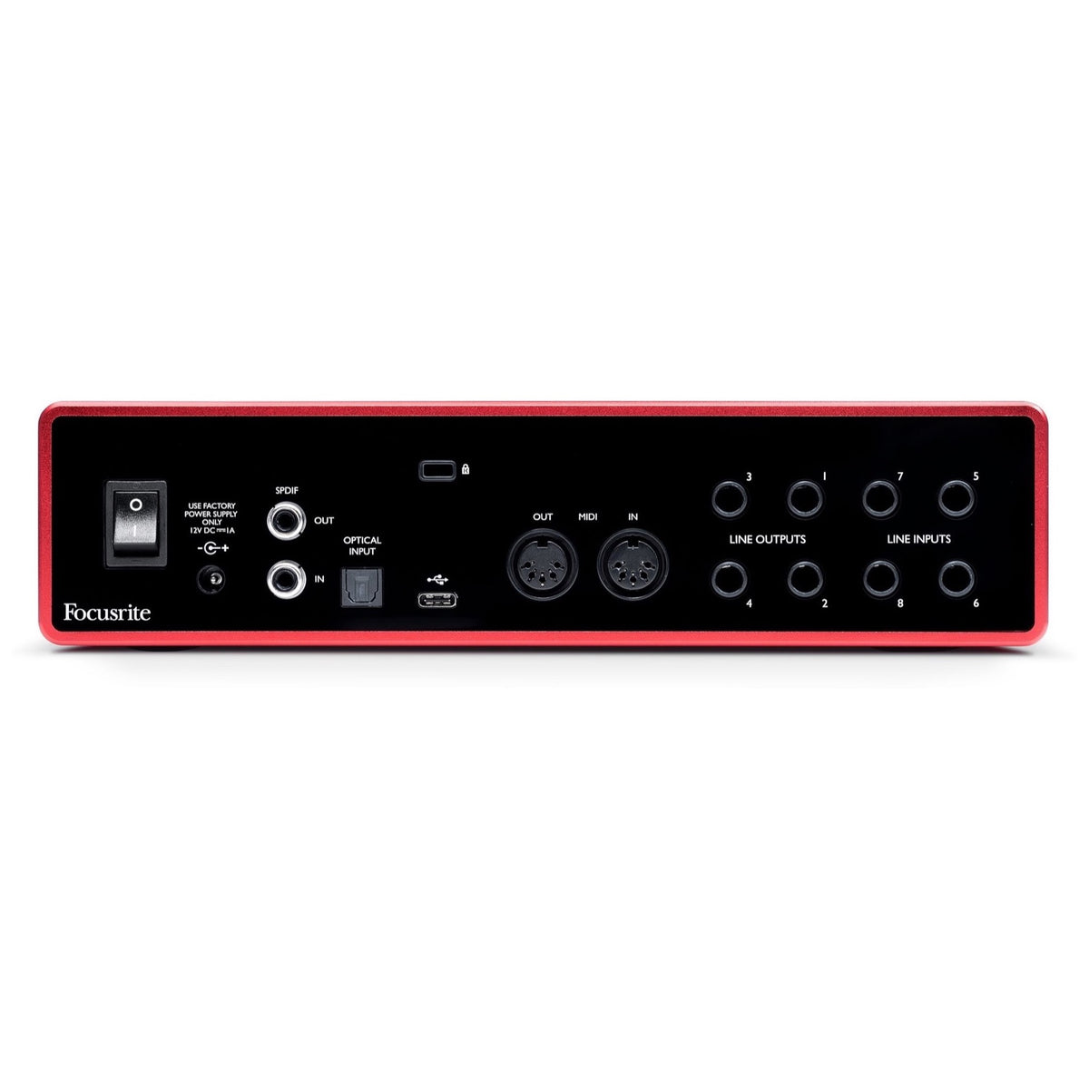 Focusrite Scarlett 18i8 3rd Gen USB Audio Interface