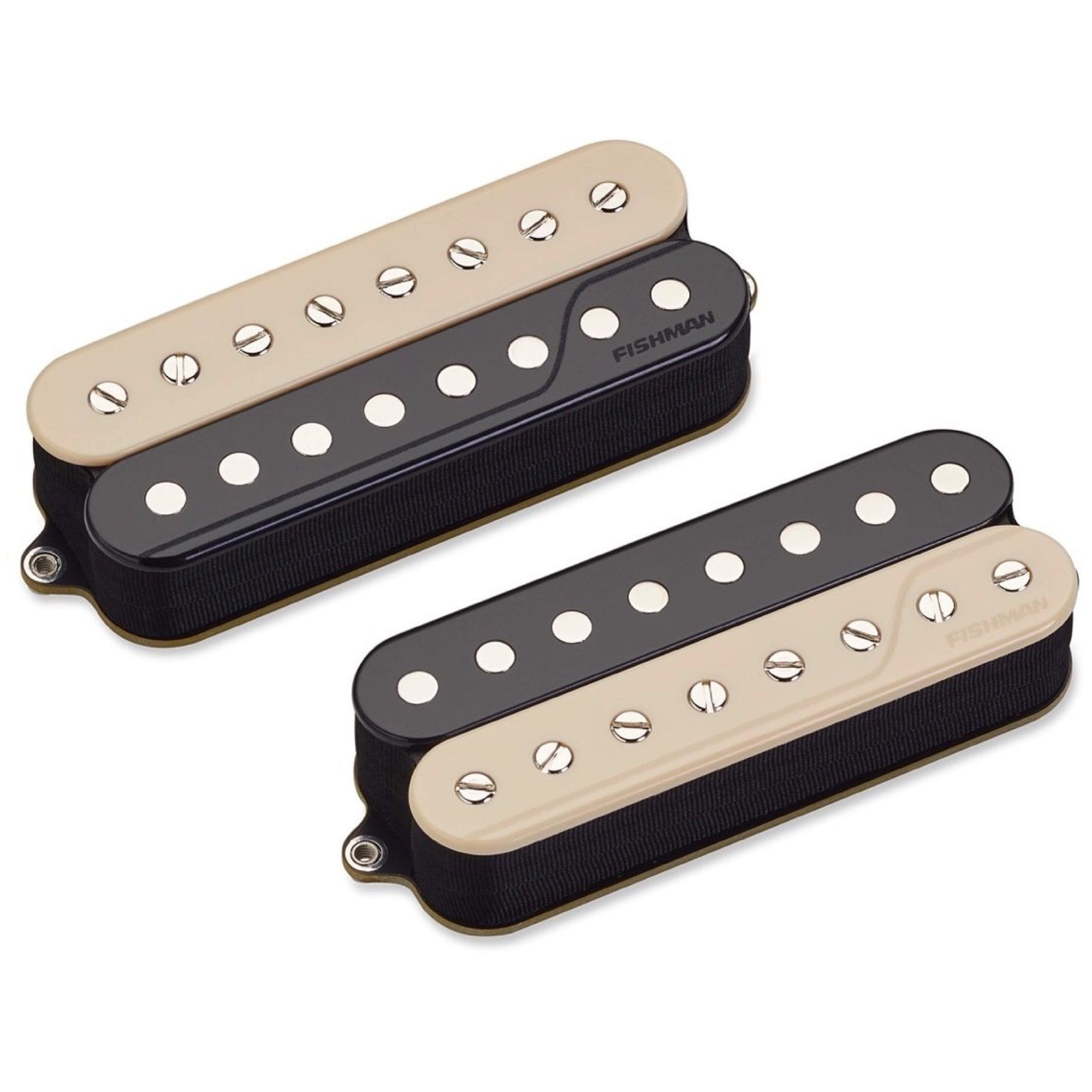 Fishman Open Core Fluence Classic Humbucker 8-String Pickup, Zebra, Set